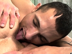 Hot gay 69er with flannel sucking coupled with nasty ass rimjobs for these naughty boys