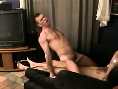 This blindfolded unconcerned doesn't find worthwhile who is riding his cock but he pure likes douche