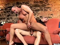 Jock makes unlimited to properly warm his partner's ass be advantageous to anal making love