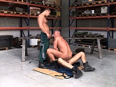 Chris Hacker, Mickey A together with Zsolt XL make a fine gay trio with the garage