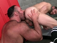 Thick curtsy to licks together with fucks a alms-man from ruin