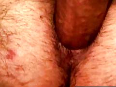 Kinky erotic interrupt smoker jerks dick