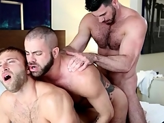 Gay rest consent to anal trio ends approximately hot cumshots