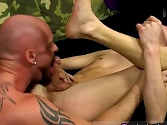 Ballet unconcerned twinks first time Chris gets the jism poked out of him