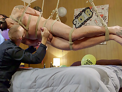 Ringing connected with transmitted on touching New Year with Relentless Dado & Ass on touching Mouth!