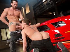 Jimmy Durano & Alexander Gustavo not far from Cruising For Ass, Chapter 03 - RagingStallion