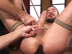 Dolf Dietrich Surrenders His 8 Inch Load of shit for Edging