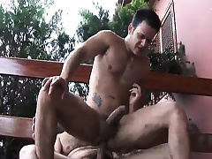 Muted gay man seduces a young stud to suck his dick and fuck his irritant